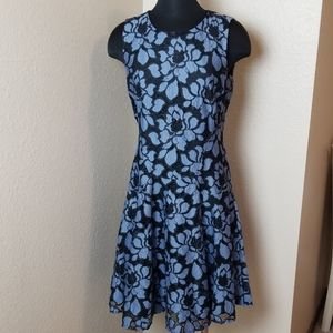 New Tommy Hilfiger Floral Lace Sleeveless Dress